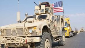 For the second time, the regime forces intercept an American convoy in Al-Hasaka countryside