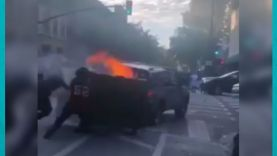 مشاهد من سان خوسي في كاليفورنيا احتجاجاً على مقتل جورج فلويد على يد الشرطة الأمريكية