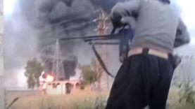 اشتباكات عنيفة وتصاعد دخان كثيف أثناء اقتحام محطة زيزون