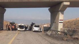 تحرير أوتستراد حماة - ادلب والقرى المحيطة به