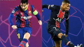 مواجهة قوية بين برشلونة وباريس سان جيرمان بدوري الأبطال