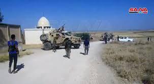 سانا: قوات النظام  تعترض رتل مدرعات أمريكية في الحسكة