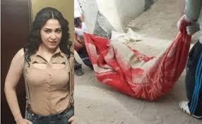 ممثلة مصرية تعترف بقتل  زوجها وتتحدث عن سبب جريمتها