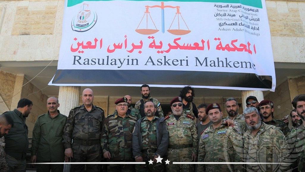 بعد الاشتباكات بين فصائله.. الجيش الوطني يصدر قرارات بشأن حمل السلاح داخل رأس العين