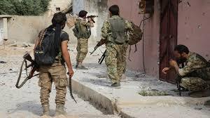 فصائل في الجيش الوطني تخرج  مقارها من مدينة رأس العين في ريف الحسكة
