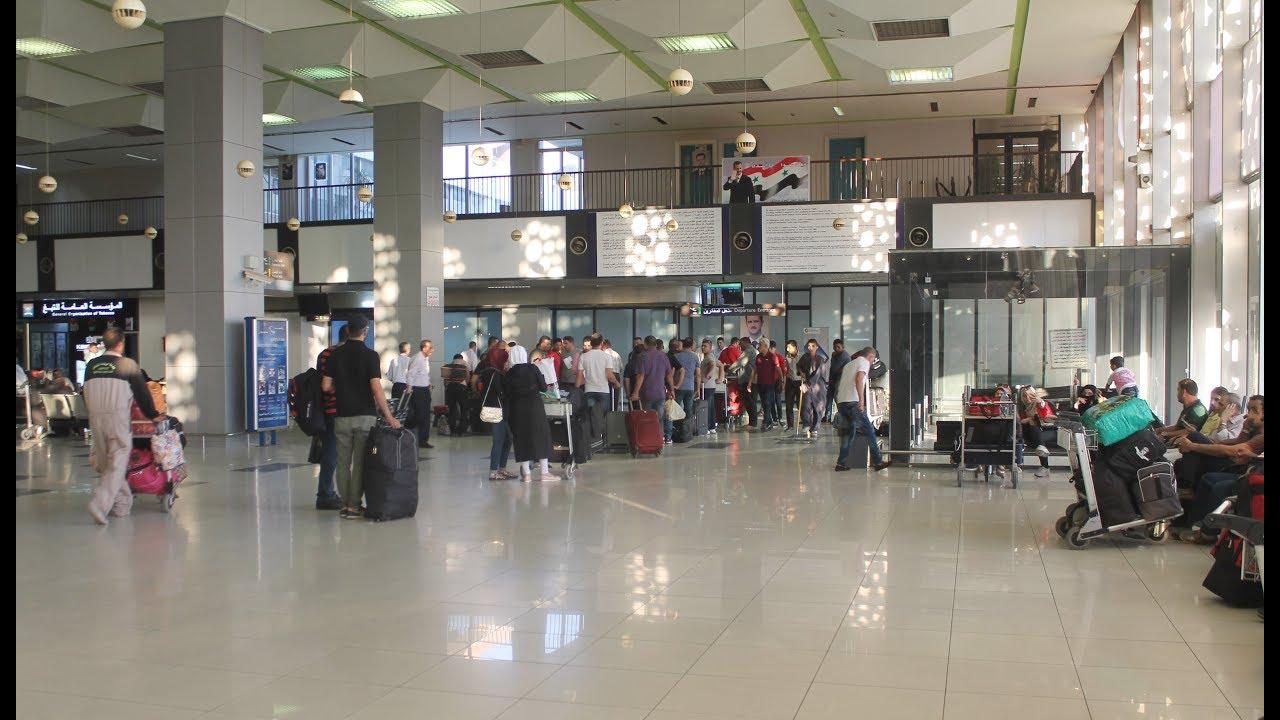 توقعات بإعادة حركة النقل والسفر عبر مطار دمشق الدولي قريباً
