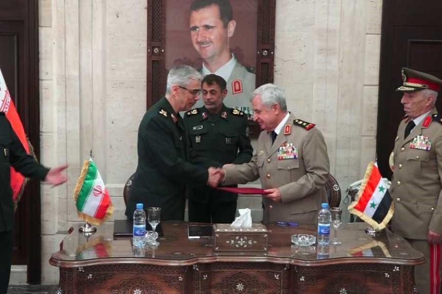 مصادر متقاطعة : إيران  ونظام الأسد وقّعا الاتفاقية العسكرية الأخيرة بمباركة  روسية