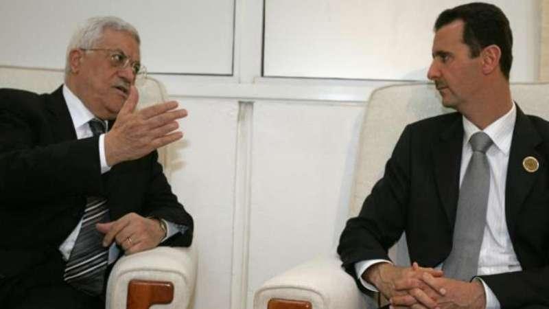 """بالفيديو: محمود عباس يوجه رسالة إلى """"أخيه"""" بشار الأسد"""