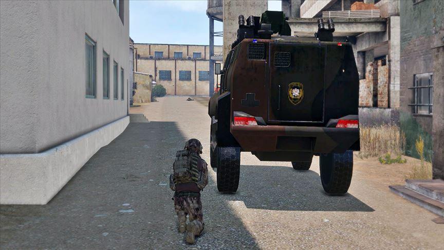 الأسلحة التركية تدخل عالم الألعاب الالكترونية في محاكاة لعمليات درع الفرات وغصن زيتون