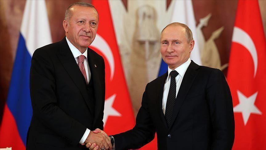 أردوغان وبوتين يبحثان آخر التطورات في ليبيا وسوريا