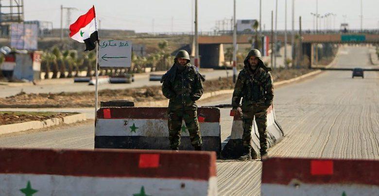 عاجل : استهداف حاجز للأمن العسكري في درعا البلد