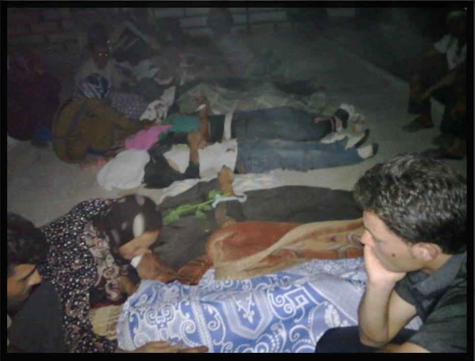 """8 أعوام على ارتكاب النظام لمجزرة """"التريمسة"""" في ريف حماة"""