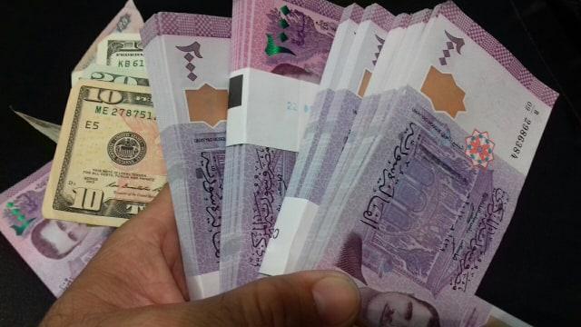 أسعار العملات والذهب  في سوريا  اليوم الثلاثاء