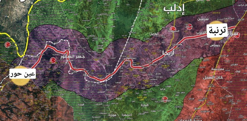رغم استهدافها بسيارة مفخخة.. الدورية الروسية التركية الـ 21 تكمل مسارها على طريق الـ M4