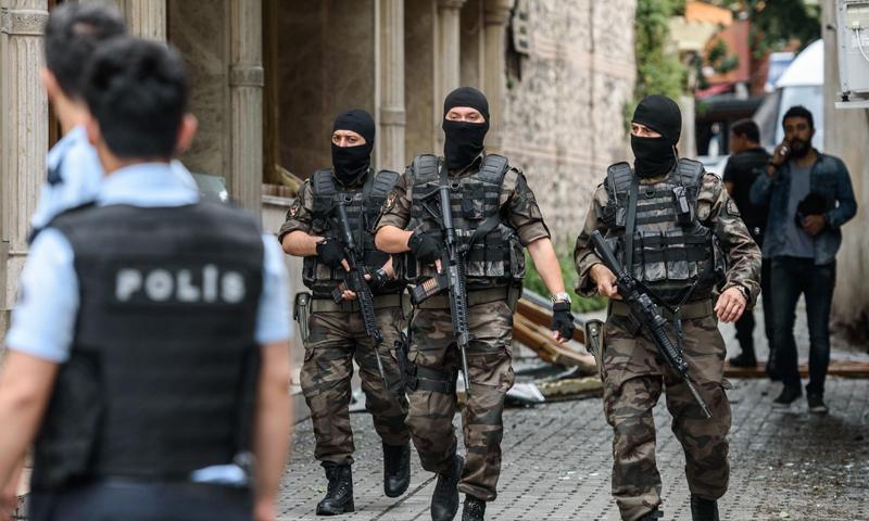الأمن التركي يعتقل  18 شخصا يشتبه في انتمائهم لـ تنظيم الدولة