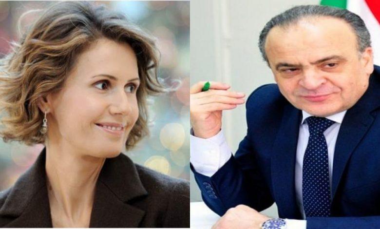 صحيفة تكشف سبب عزل عماد خميس وأسماء الأسد تتولى التحقيق في القضية