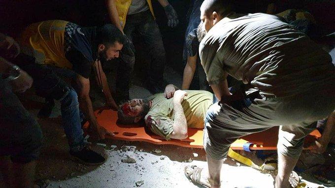 مقتل مدني وجرح آخرين جراء غارتين روسيتين في الباب والقواعد التركية تطفئ الأنوار تزامناً مع تحليق الطيران
