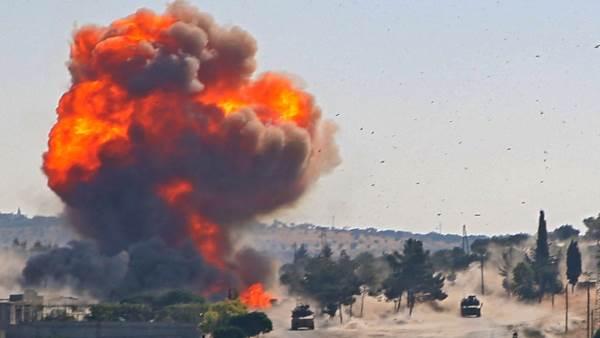 مصطفى: تفجير العربة المفخخة .. عمل مخابراتي تقف خلفه مخابرات روسيا والنظام وإيران