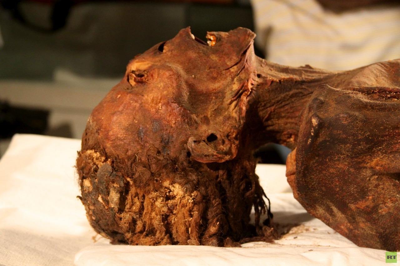 بعد 3000 آلاف عام.. حل لغز المومياء الصارخة في مصر (صور)
