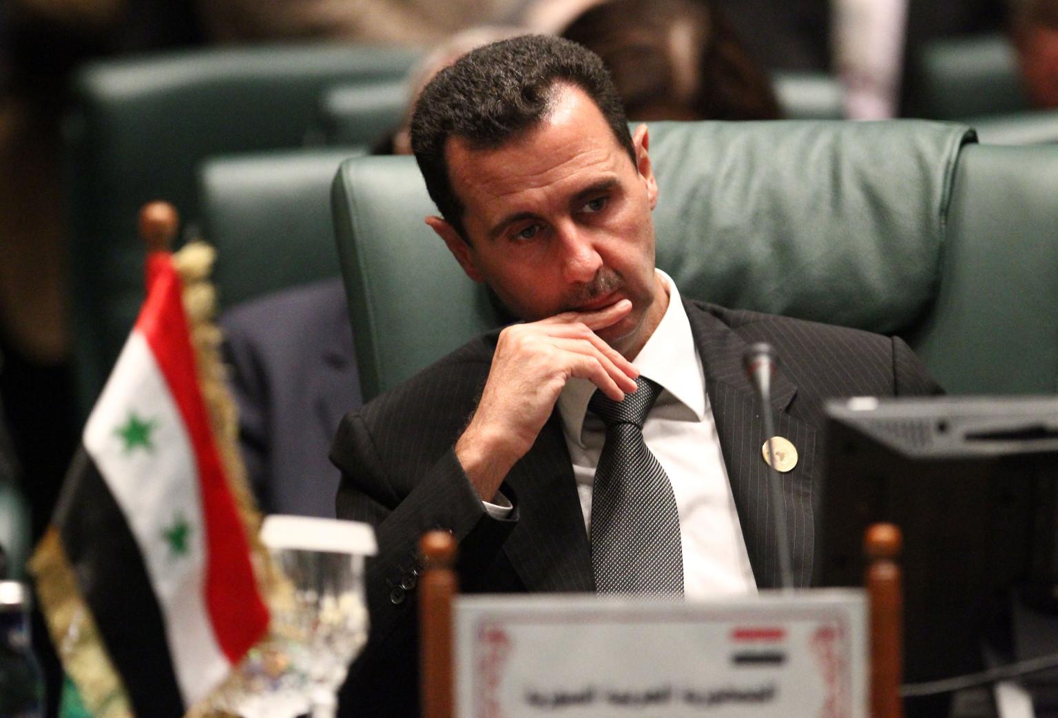 """قناة ألمانية : """"بشار الأسد"""" بنى حكمه في سوريا على مبدأ الخوف والرعب."""