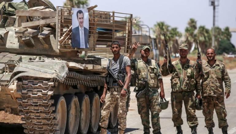 قتلى وجرحى للنظام في هجوم مسلح في ريف درعا الشمالي