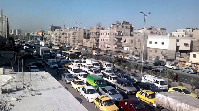 انفجار يهز العاصمة  دمشق عشية انتخابات برلمان النظام