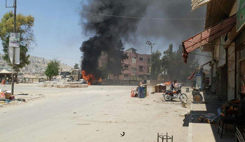 انفجار في عفرين يوقع عشرة جرحى