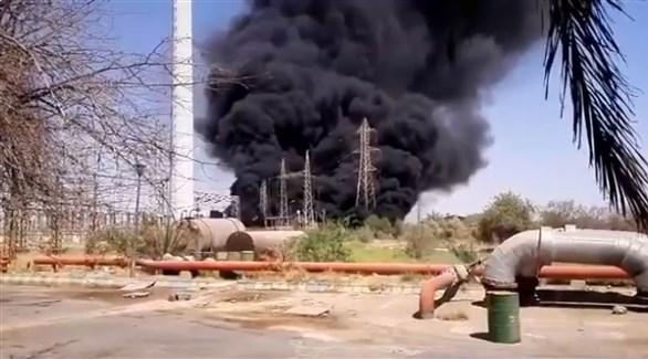 إيران ...انفجار جديد في محطة توليد الكهرباء بأصفهان