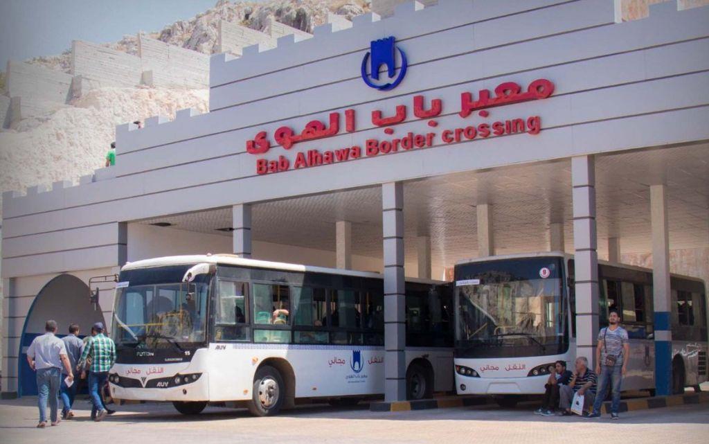 معبر باب الهوى يستأنف عبور المسافرين من وإلى تركيا