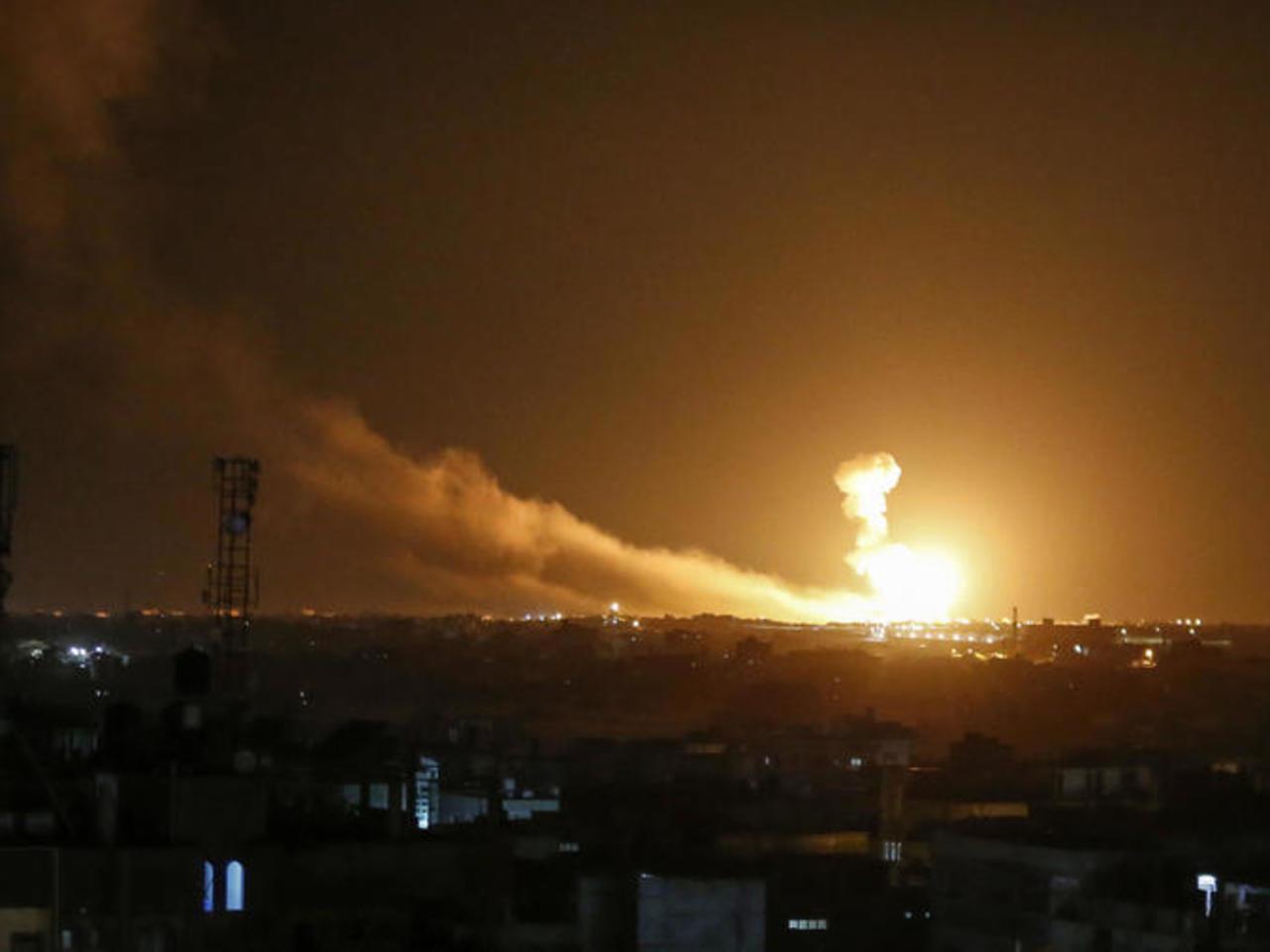 قصف إسرائيلي يستهدف مواقع إيرانية في محيط دمشق (فيديو)