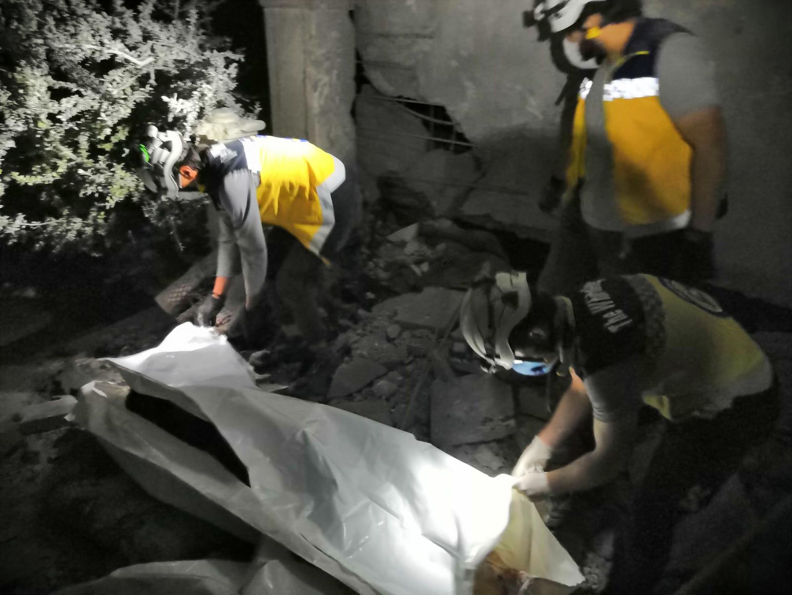 مقتل مدنيين وإصابة آخرين جراء قصف روسي على مدينة الباب