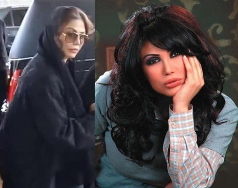 """أول ظهور للممثلة """"نورمان أسعد"""" بعد اعتزالها الفن (فيديو)"""