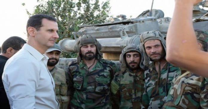 اعتقال  6 ضباط للأسد من قبل ميليشيا رديفة للنظام في العاصمة دمشق
