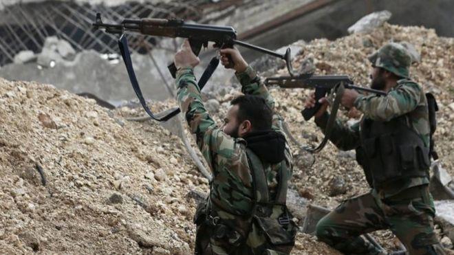 الفصائل المسلحة تقتل مجموعة كاملة لقوات النظام  جنوب إدلب
