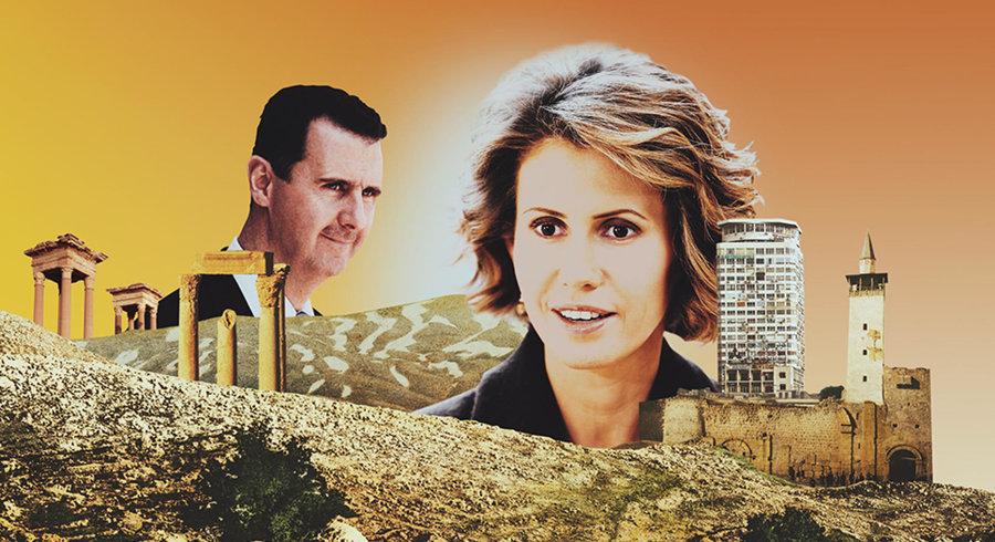 كيف تحولت أسماء الأسد من وردة الصحراء إلى رفيقة الجزار في 20 عام