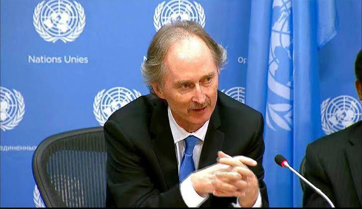 بيدرسون: اللجنة الدستورية السورية ستعقد  جلسة ثالثة 24 أغسطس