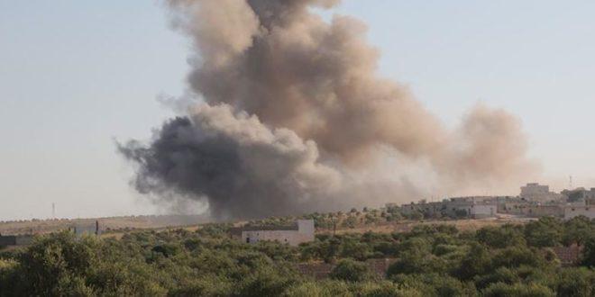 انفجارات تحدث أضراراً ماديةً على السياج الحدودي بين سوريا وإسرائيل