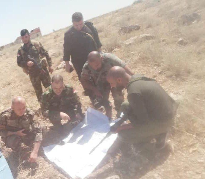 صورة لقائد ميليشيات لواء القدس االإيراني على جبهات إدلب وصفحات موالية تكشف اسم المعركة