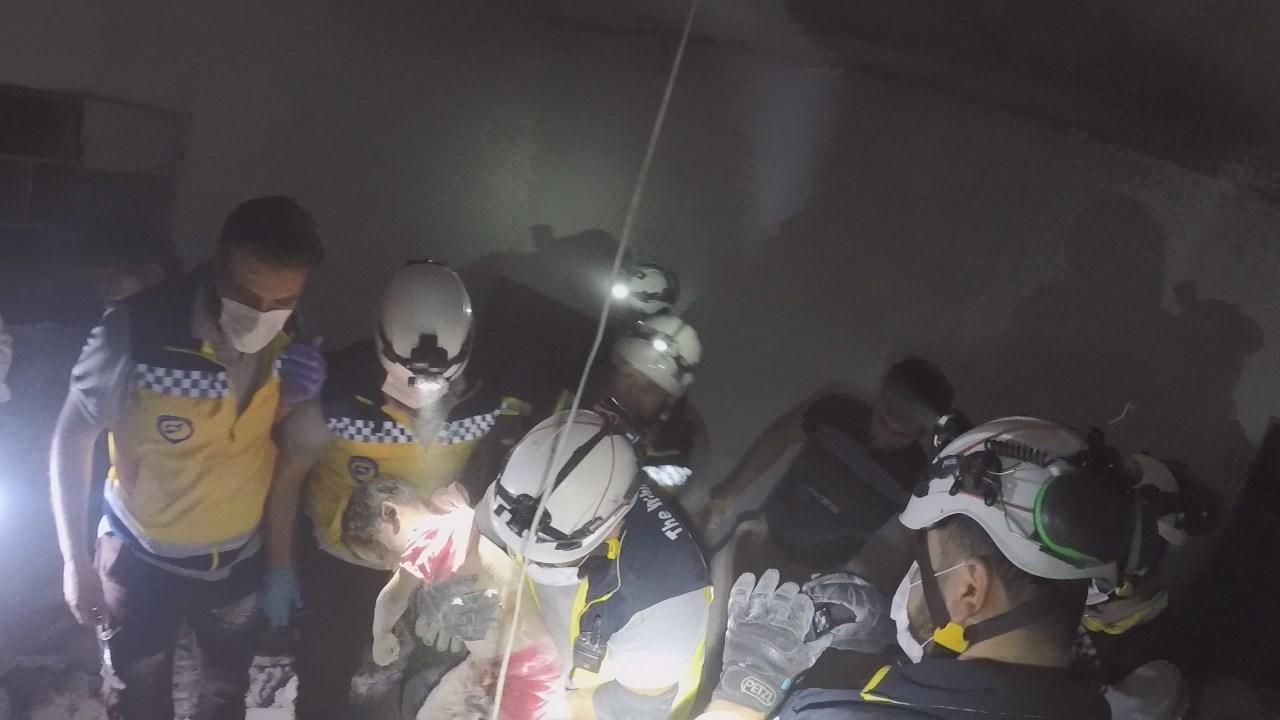 مقتل 3 أطفال وامرأة حصيلة انفجارات مستودع ذخيرة قرب اعزاز (صور)