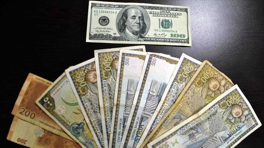 تحسن كبير في سعر الليرة السورية أمام الدولار الأمريكي