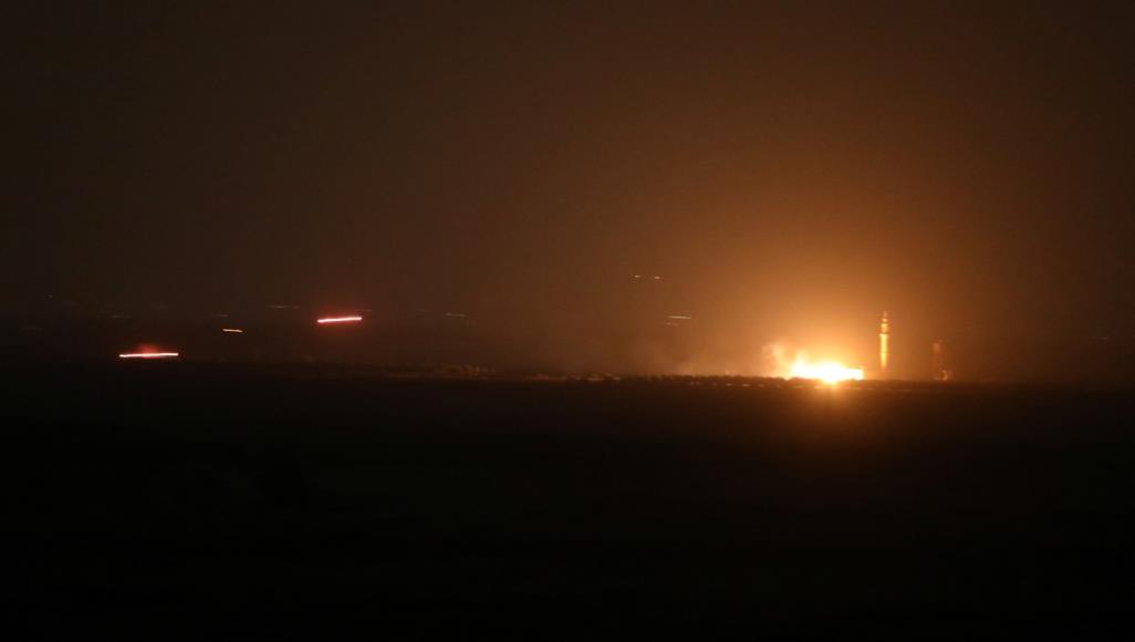 قصف إسرائيلي يستهدف نقاطا شمال القنيطرة