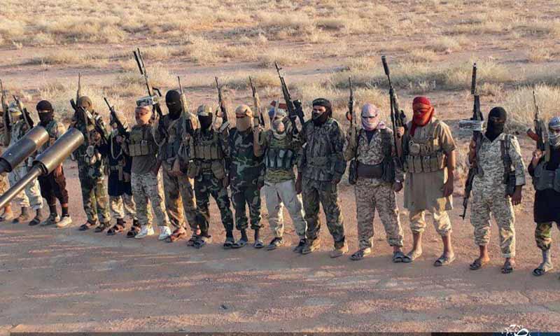 """تنظيم """"الدولة الإسلامية"""" يقتل 94 عنصراً من قوات النظام والمليشيات الموالية"""
