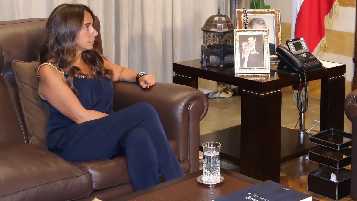 إصابة ابنة وزيرة الدفاع اللبنانية بفيروس كورونا