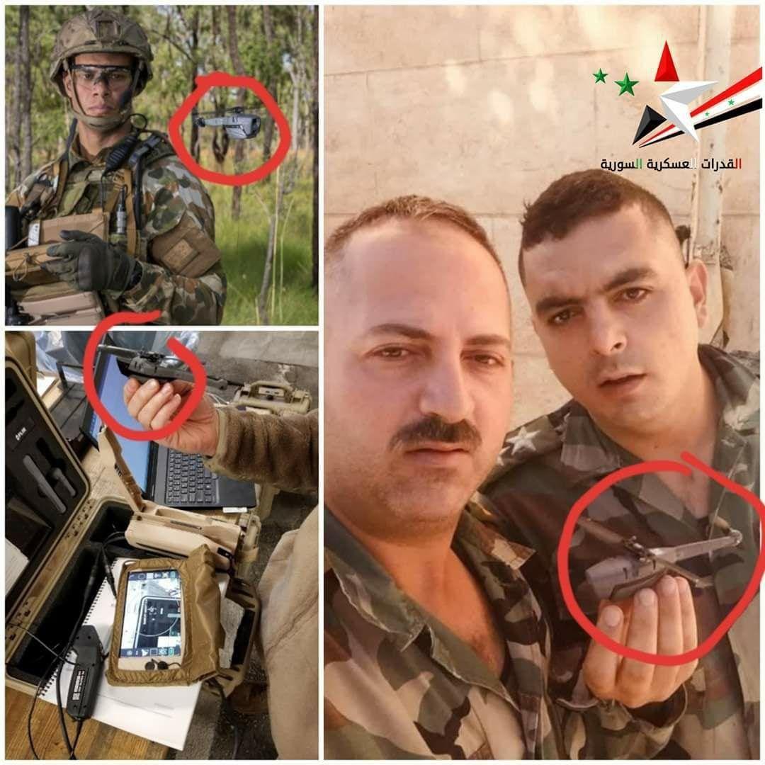 الدبور الأسود في سوريا.. الطائرة المسيرة الحربية الأصغر في العالم