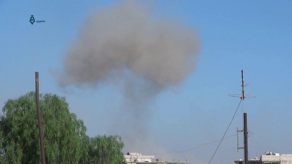 مقتل مدني وجرح اثنين جراء قصف مدفعي للنظام على ريف إدلب