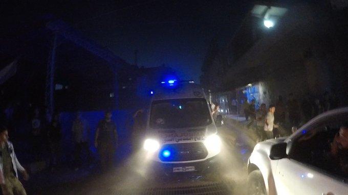 ضحايا مدنيون جراء انفجارين في عفرين وإدلب (فيديو)