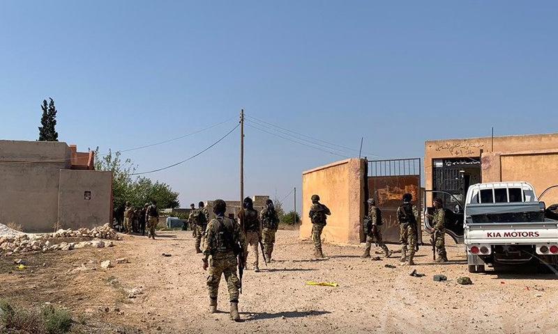 """""""الجيش الوطني"""" يعلن صد هجوم لقسد شرق رأس العين"""