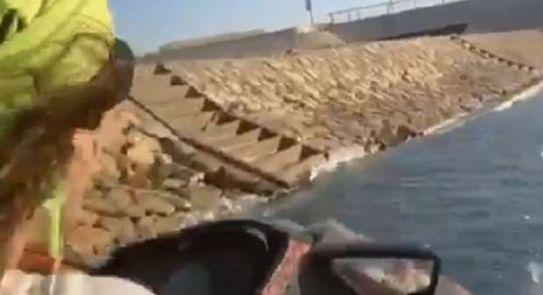 بالفيديو.. تعرض أصالة نصري وإعلامية مصرية لحادث غرق مريع