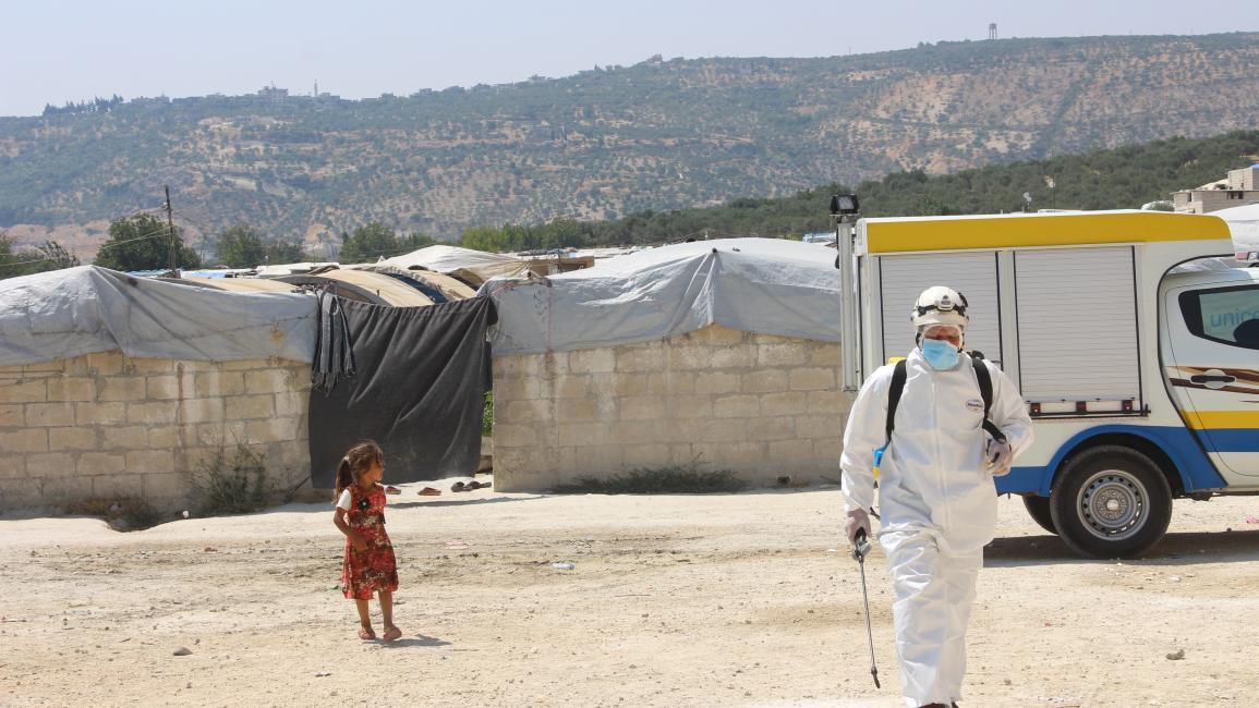 تسجيل إصابة جديدة بفيروس كورونا في الشمال السوري