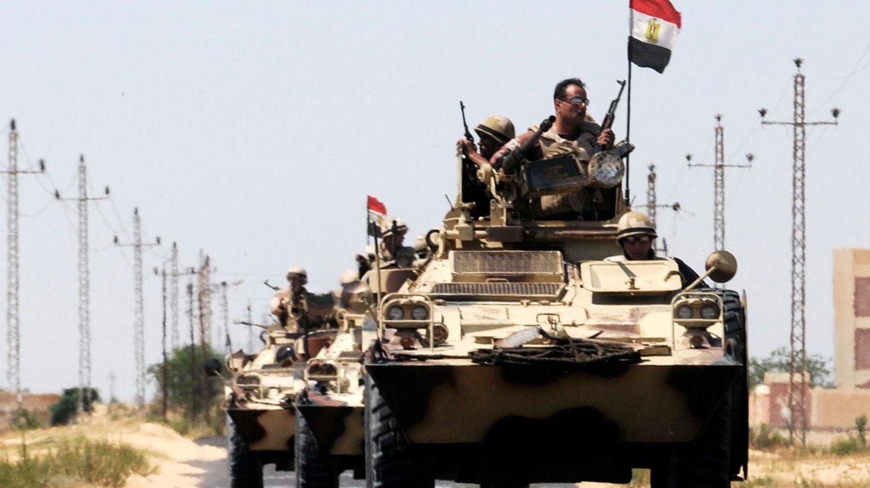 مصر ترسل مقاتلين للنظام وهذه أماكن الانتشار